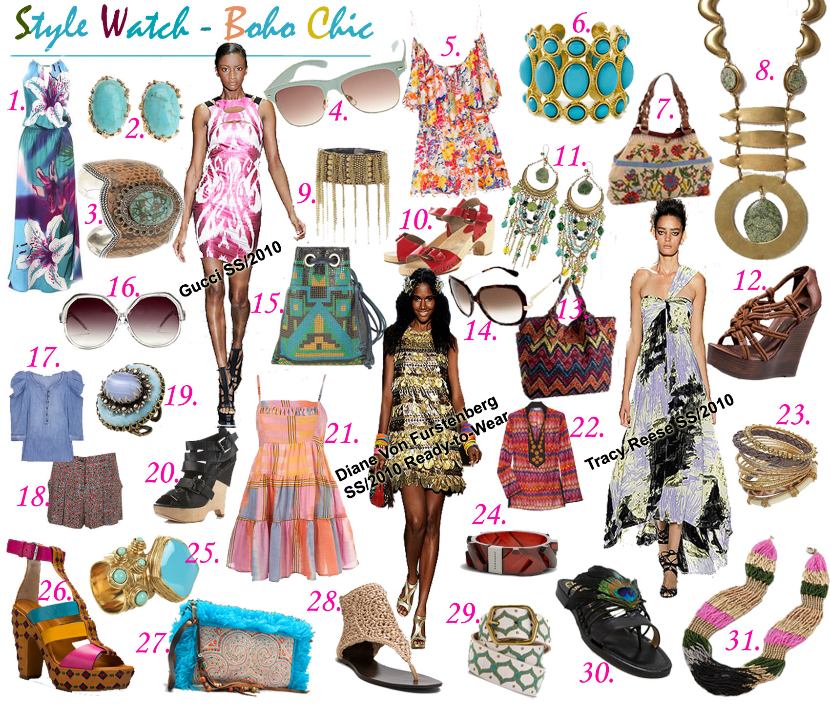 Boho Chic The A To Z Of Fashion Writing